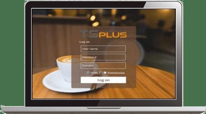 TSplus web portal