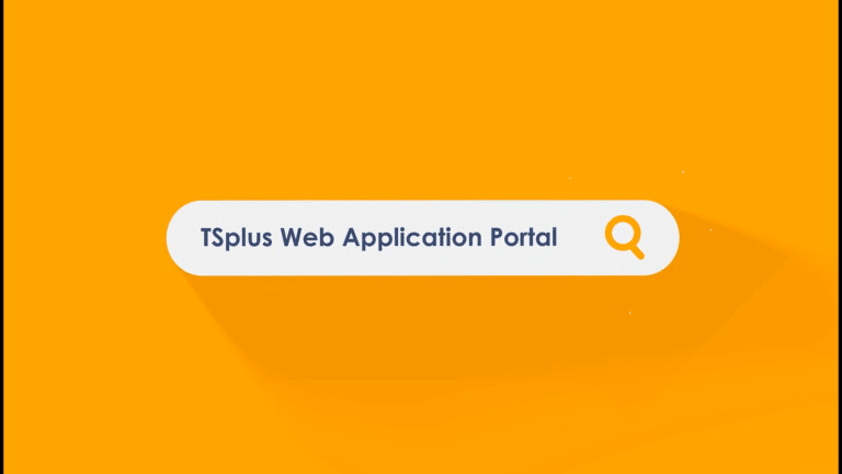 TSplus web application portal
