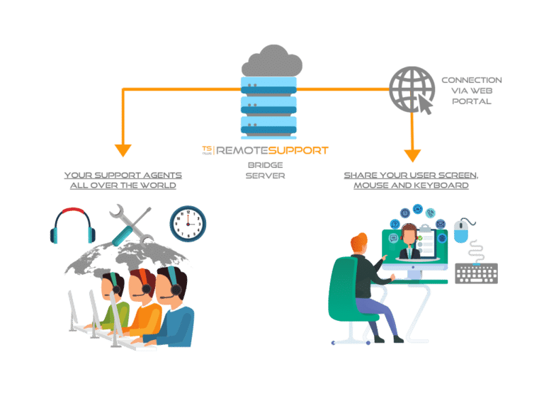 TSplus Remote Support Grafiek